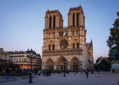 Notre Dame de Paris, Paris, France